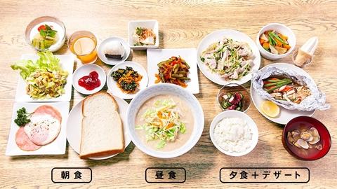 理想的な食事 一日