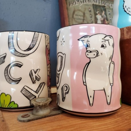 Charming lucky cups for home decor