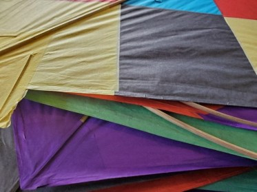 hand made kites from India