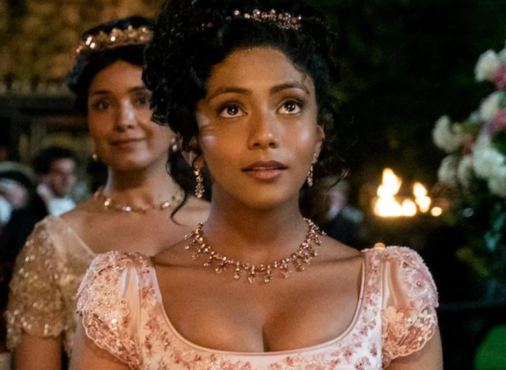 Charithra Chandran parla dell'importanza di essere un'attrice di colore in una serie come Bridgerton 2