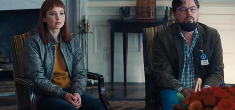 Il teaser ufficiale di Don't Look Up con Leonardo DiCaprio e Jennifer Lawrence