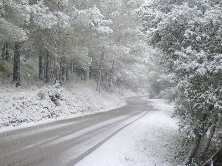 neige dans le sud