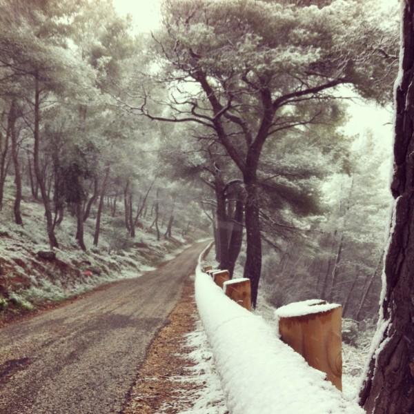neige sud-est