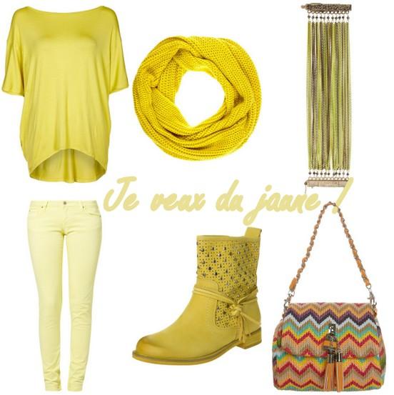 sélection jaune Zalando