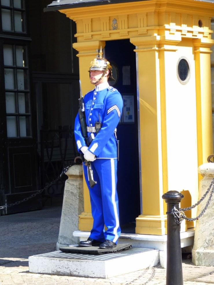 garde au palais