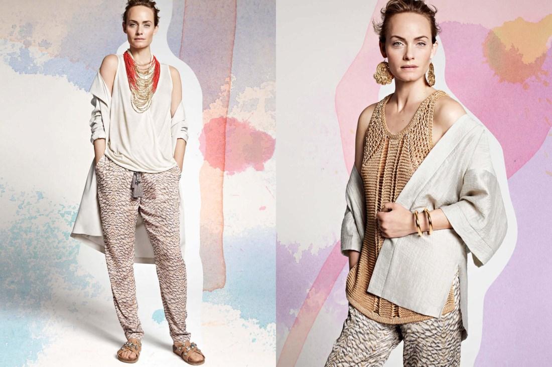 veste et pantalon + pantalon + jupe (tu n'en vois que la moitié donc^^)