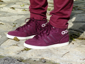 Baskets ADIDAS bordeaux