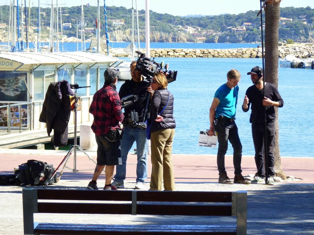 Scènes de tournage