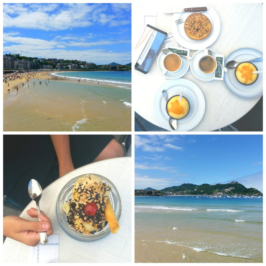 San Sebastian, version Instagram