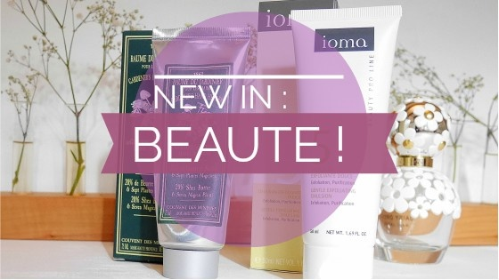New in : beauté !
