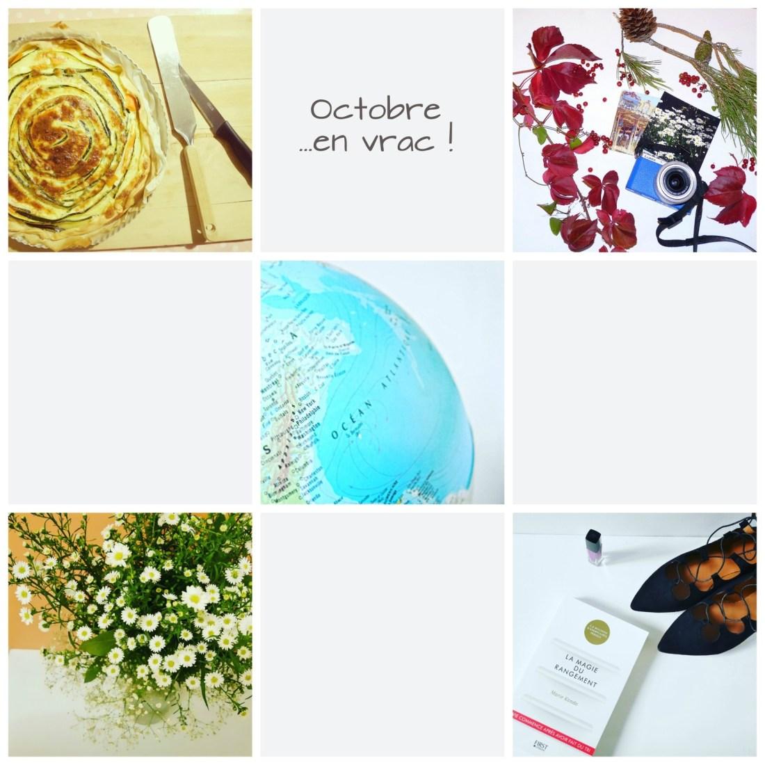 Tarte aux légumes, récolte d'automne, New-York, bouquet champêtre, shopping...