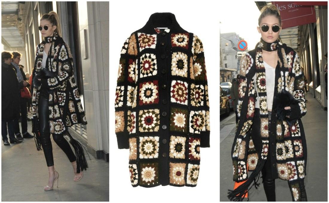 Fashion obsession : le manteau au crochet!