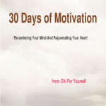 30 day challenge from CHI FOR YOURSELF