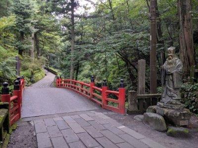 榛名神社参道