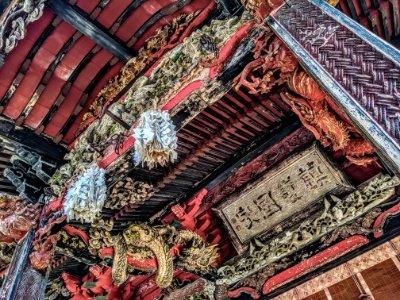 榛名神社の彫刻