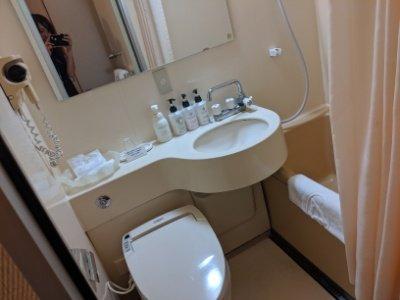 成田ビューホテルバストイレ