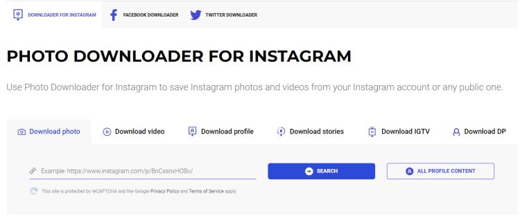 [IG] 如何簡單地下載Instagram貼文的影片和照片