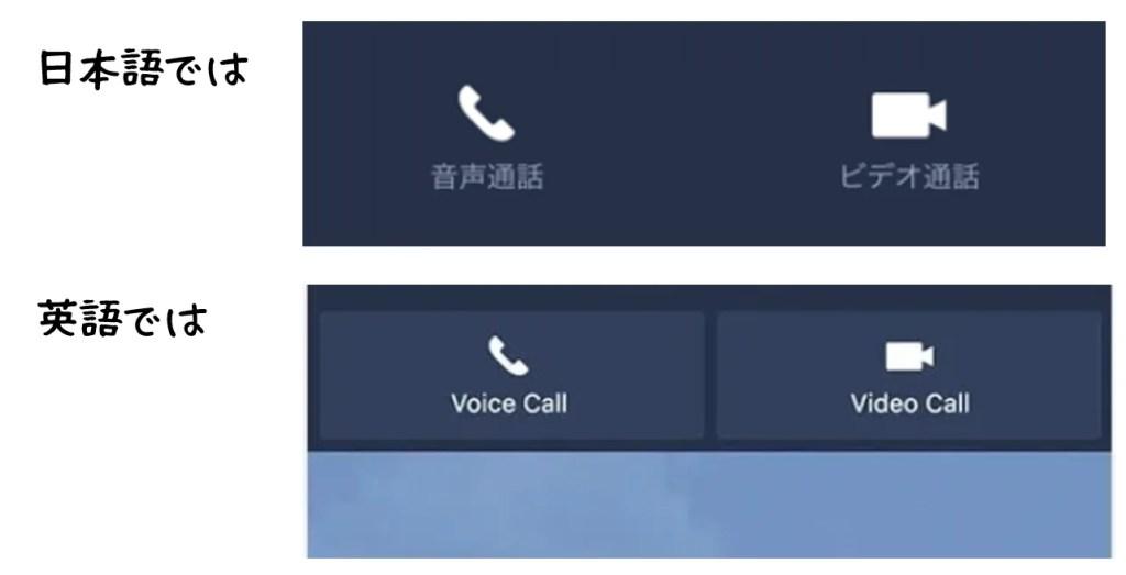 英語では「ビデオ通話」は「Video Call」