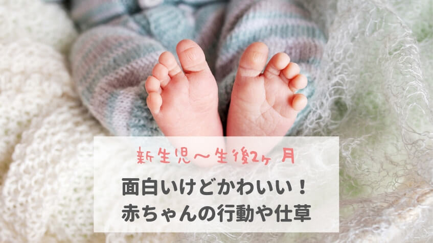 35442b015a45c 新生児~生後 ヶ月 面白いけどかわいい!赤ちゃんの行動や仕草 こども jpg
