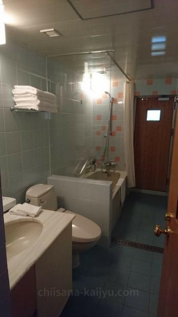【帯広】北海道ホテルの客室(お風呂)