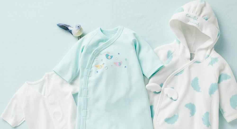 新生児のベビーウエアは何を選べばいいの?サイズや服装をご紹介