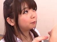 超かわいい入江愛美ちゃんの乳首弄り手コキからのパイズリが神技