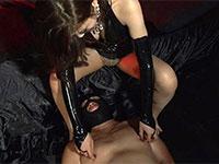 女神まりこによって乳首でドライオーガズムさせられマゾ雌化するM男達