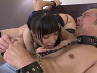 先生と同級生をベッドに拘束して淫語で挑発しながら乳首責めをする変態JK栄川乃亜ちゃん