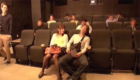 彼氏と来た映画館