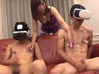 大浦真奈美が男の乳首開発!乳首を舐めさせながら執拗に乳首ローター責めで夢の乳首オーガズム(乳首イキ)を達成する男達!