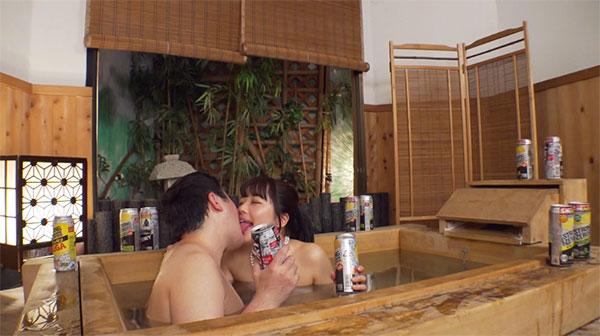 宮沢ちはるとお風呂でストロングゼロを飲みながらベロチュー