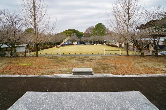 忠霊塔前子供広場 久留米競輪場 福岡県 旧軍用地
