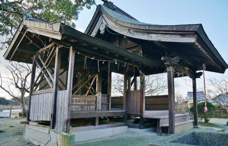 みやま市高田町 水天神社 拝殿 建築