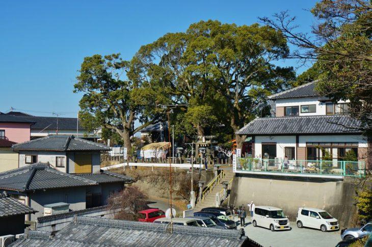 福岡県大牟田市鳥塚町 鳥塚公園 三笠神社 熊野神社