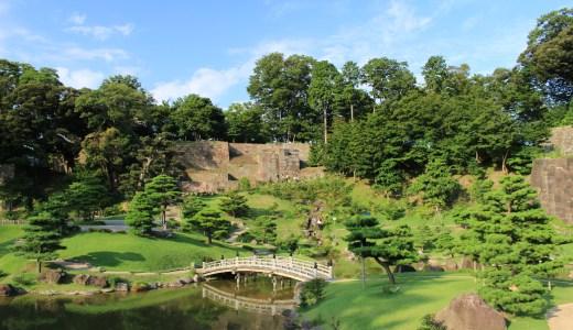 金沢城公園と玉泉院丸庭園へ行ってきた【石川の観光地】