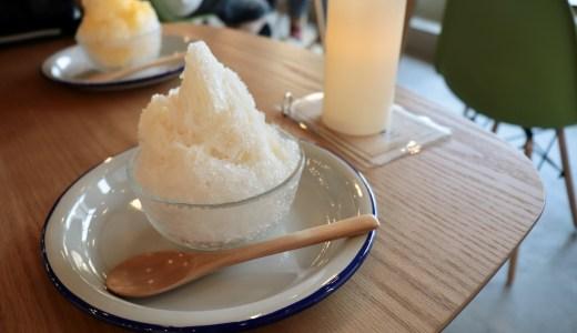 【クリームソーダもあるよ】足利の昔ながらのお店 三船屋と今どきのお店 マチノテで食べられるかき氷を紹介します【栃木のグルメ】