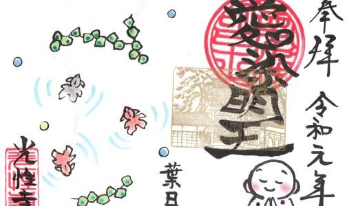 【桐生】街中の小さなお寺!こだわり御朱印が話題の光性寺へ行ってきた【群馬の寺院】