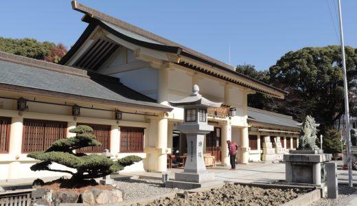 【名古屋】名古屋城のすぐ近く!愛知縣護国神社へ行ってきた【愛知の神社】
