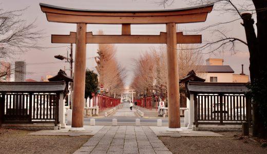 【小山】夕暮れとお昼の須賀神社へ行ってきた【栃木の神社】