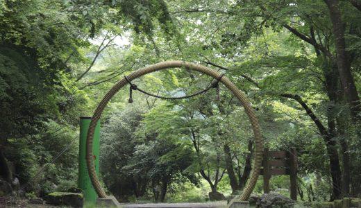 【飯能】1年中茅の輪がある神仏習合のお寺!竹寺(八王寺)へ行ってきた【埼玉の寺院】