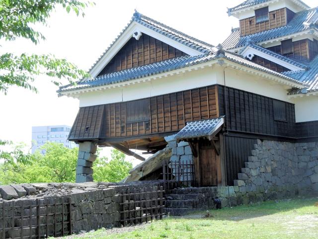 熊本城角石