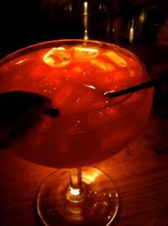 Blood Orange Margarita, yeah yeah.