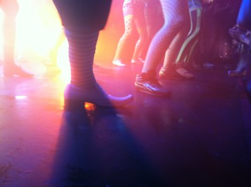 Gotta love the dancers.
