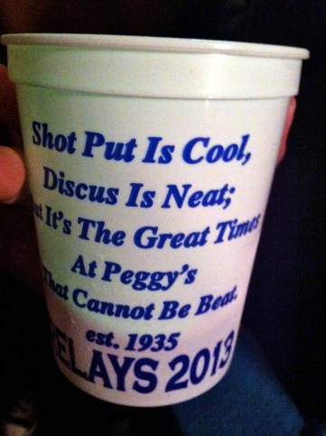 You're right, Peggy's Tavern.