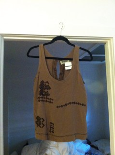 Ecote blouse for $7.50