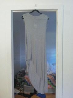 TopShop uneven maxi dress