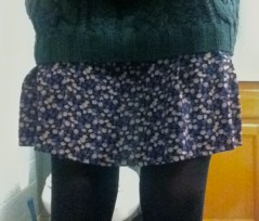 My skirt's not as long and witchy as theirs, but what are ya gonna do?