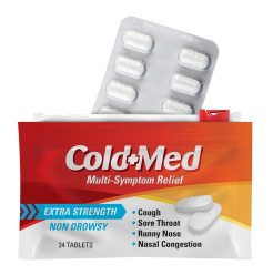 cold med child-resistant flexible pouch