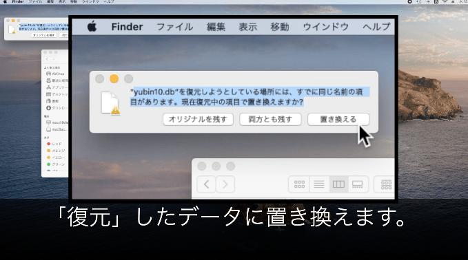 【保存版】はがきデザインキットの消えた住所録の復旧・復元方法 - 復元したデータに置き換え「yubin10.db」