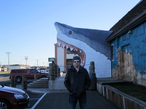 Shark gift shop Ocean Shores WA